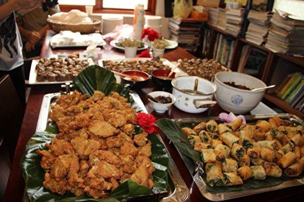 宜兰传统小吃。(谢月琴/大纪元)