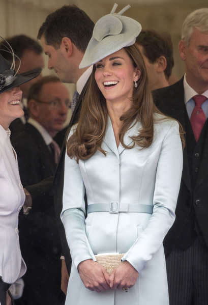 2014年6月16日,凱特王妃出席嘉德勳章授勳盛典。(Arthur Edwards - WPA Pool /Getty Images)