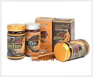 韩国保健食品史上首获抗癌专利的尤尼特仁 UniTein。(大纪元图片)