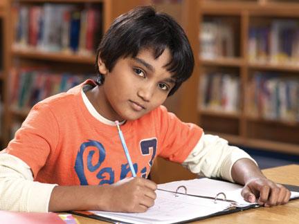 图:Kumon的学生。(Kumon提供)
