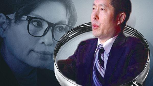 日前,中共央視財經頻道總監郭振璽(右)被調查,主播李瑞英被「離職」,種種跡象表明,中南海以「你懂的」方式釋放圍剿江澤民的信號。(大紀元合成圖)