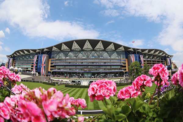 皇家賽馬場外景(Chris Jackson/Getty Images for Ascot Racecourse)