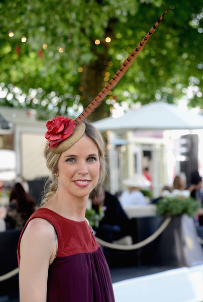 賽馬會女觀眾(Kirstin Sinclair/Getty Images for Ascot Racecourse)