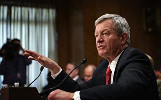 美國駐華大使鮑卡斯6月25日在他的首次重大公開演講當中說,中共網絡盜竊商業機密是美國國家安全的威脅,他警告華盛頓將繼續施壓北京。圖為鮑卡斯。(Alex Wong/Getty Images)