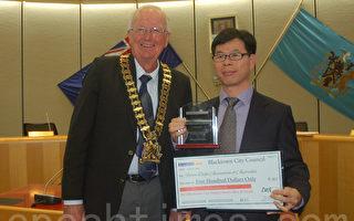 悉尼最大城鎮遊行 法輪功天國樂團獲冠軍