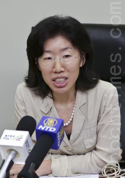 交银国际控股有限公司董事总经理杨青丽(余钢/大纪元)