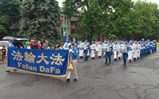 魁北克省庆游行 天国乐团带给人欣喜