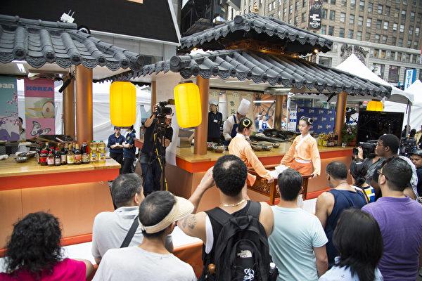 組圖:亞洲美食節紐約時代廣場體驗亞洲文化2
