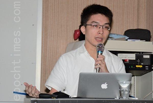 資安專家、戴夫寇爾執行長翁浩正認為台灣資安的問題,在於政府無有力單位統籌與通報資安問題。(方惠萱/大紀元)