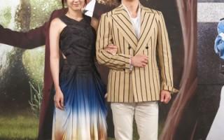 张赫(右)、张娜拉(左)睽违12年再联袂演出《如命运般爱你》。(三立提供)