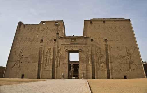 埃及的艾德夫神殿恰似一個巨型電腦。(fotolia)
