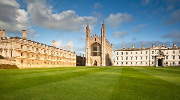 英国剑桥大学名列第四 图为剑桥大学的国王学院(Fotolia)