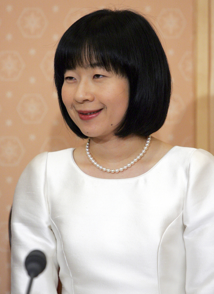 日本紀宮清子公主結婚記者會資料照(Issei Kato-Pool/Getty Images)
