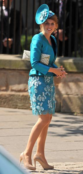 英國的比阿特麗斯公主(BEN STANSALL/AFP/Getty Images)
