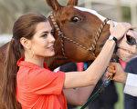 摩纳哥公主夏洛特是马术运动员。(Chris Jackson/Getty Images for Cartier)