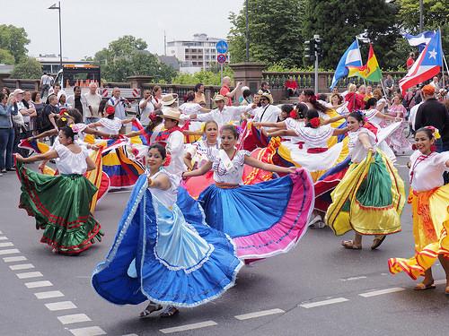 法蘭克福文化節大遊行 外國人唱主角(1)