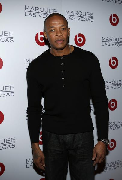 嘻哈歌手德瑞博士(Dr. Dre)。(Isaac Brekken/Getty Images for Beats by Dre)