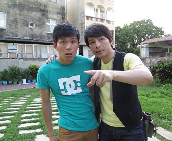 姚淳耀(左)与孙协志双胞胎,但姚淳耀被亏比较老。(三立提供)