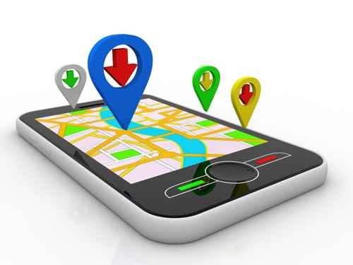 司机可以从智能手机免费下载地图导航应用程序。(fotolia)