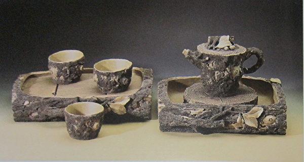 《双船式七件树段壶组》。(钟元翻摄/大纪元)
