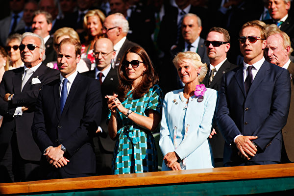 威廉王子和凯特王妃成为座上宾。(Pool/Getty Images)