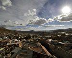 玻利维亚的波托西被列入世界濒危遗产的名单。图为远眺波托西(AIZAR RALDES/AFP/Getty Images)