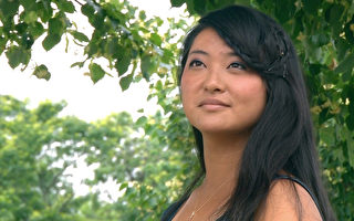 出生于中国黑龙江的郁金香,今年5月在八千多名竞争者中脱颖而出,以平均满分的成绩获得耶鲁大学歌剧研究院全额奖学金,继续追寻歌剧梦想。(大纪元图片)