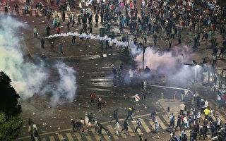 阿根廷痛失大力神杯 引发首都骚乱