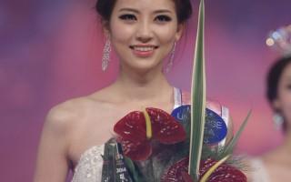 22歲的新晉韓國小姐金秀妍(音)。(Chung Sung-Jun/Getty Images)