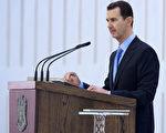 敘利亞總統阿薩德,7月16日第三次宣誓就任總統(HO/SAN/AFP)