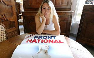 法國極右派的政治人物李克勒因種族歧視言論,被判9個月徒刑、罰金5萬歐元,且5年不得參選。(FRANCOIS NASCIMBENI/AFP)