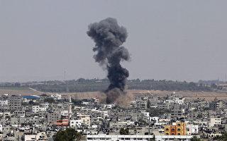 2014年7月17日,以色列总理内塔尼亚胡傍晚下令向加沙地面进攻,企图销毁加沙通向以色列的地道。当天早上13名枪手,从地道进入以色列,8名枪手被以军打死。(Mohammad Othman/Anadolu Agency/Getty Images)