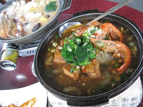 鲜虾凉瓜煲(谢云婷/大纪元)