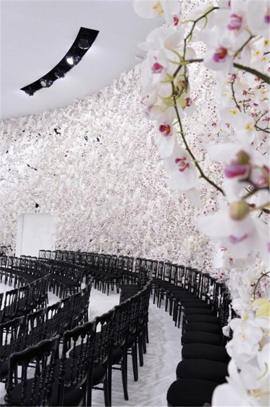 迪奥(Christian Dior)秋冬高级定制秀场(Pascal Le Segretain/Getty Images)