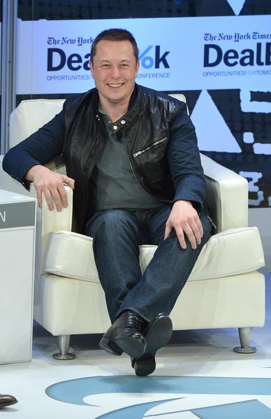 特斯拉(Tesla)执行长伊隆.马斯克(Elon Musk)已在再生能源、科学与工程教育以及儿童健康方面做出努力与贡献。(Getty Images for The New York Times)