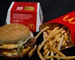 美國密蘇里州聖約瑟市(St. Joseph)的一家麥當勞推出薯條無限量的銷售計畫。(PAUL J. RICHARDS/AFP/Getty Images)
