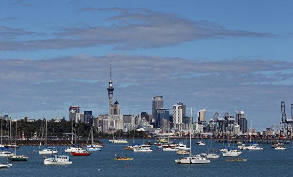 新西兰奥克兰(MICHAEL BRADLEY/AFP/Getty Images)