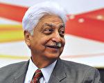 被譽為印度的「比爾·蓋茨」,全球性技術服務公司威普羅(Wipro)董事長,同時也是印度科技首富普雷姆吉(Azim Premji),平時生活節儉,不亂花錢。(Manjunath Kiran/AFP/Getty Images)