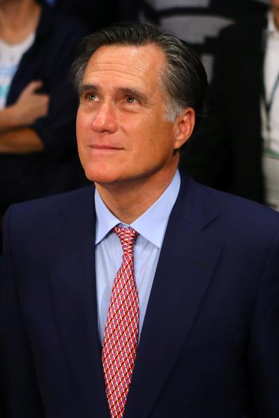 米特.罗姆尼(Mitt Romney)美国商人、第70任马萨诸塞州州长,2012年美国总统选举的共和党提名候选人,败于寻求连任的贝拉克.奥巴马。(Bello/Getty Images)