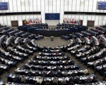 """2013年12月12日,欧洲议会通过了一项要求""""中共立即停止活体摘除良心犯、以及宗教信仰和少数族裔团体器官的行为""""的紧急议案。(FREDERICK FLORIN/AFP/Getty Images)"""