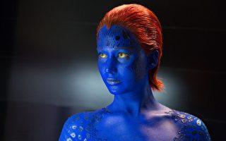 2014年最新电影《X战警:未来昔日》中的魔形女。(福斯提供)