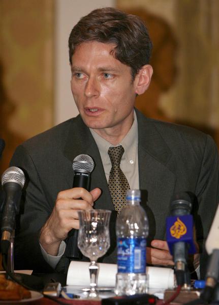 美國國務院主管民主、人權及勞工助理國務卿Tom Malinowski。(MAHMUD TURKIA/AFP)