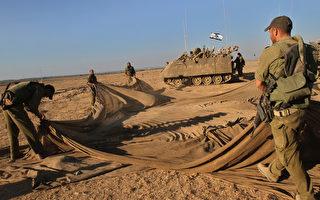 以色列3日从加萨走廊撤走多数地面部队。(GIL COHEN-MAGEN/AFP)