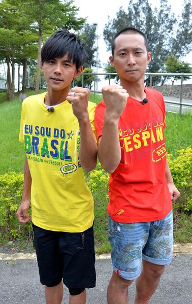 綜藝咖「浩角翔起」,阿翔(左)與浩子。(TVBS提供)