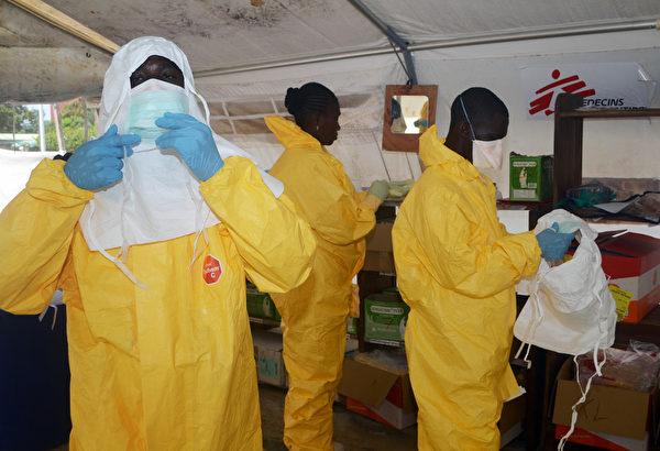 此次西非埃博拉病毒爆發規模之大,史無前例。(AFP)