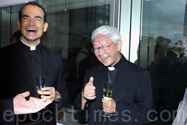 陈日君枢机获邀出席加拿大驻香港及澳门总领事馆新馆址开幕仪式(蔡雯文/大纪元)