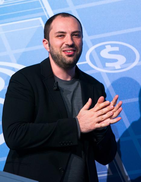 WhatsApp创办人之一库姆(Jan Koum)童年经历共产独裁制度,所以坚持不搜集用户资料。(David Ramos/Getty Images)