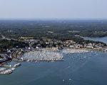 法国布列塔尼区莫尔比昂海湾(Morbihan bay)(MARCEL MOCHET/AFP)