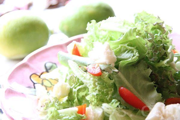 南义风起司沙拉southern Italy salad。(ALEX/大纪元)