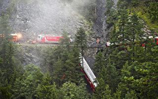 組圖:天使守護 瑞士火車出軌全生還